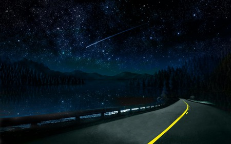 nightskyroad, desktopnexus.com
