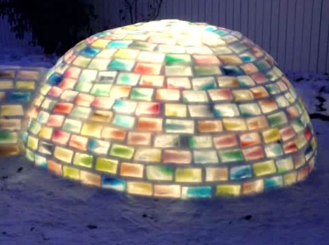 Rainbow Igloo, TheWeatherNetwork.com