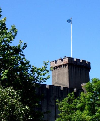 Dunvegan Castle Tower, S. Michaels 2008