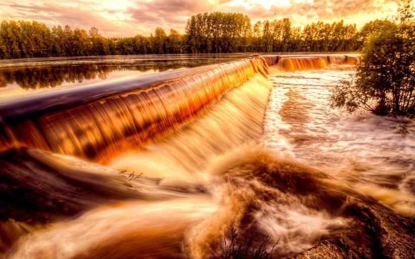 1hdwallpaper.com, goldenriverfalls