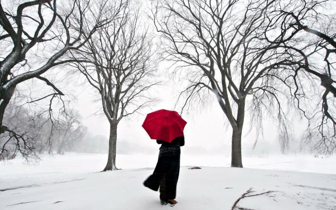 Winter-Red-Umbrella-690x431