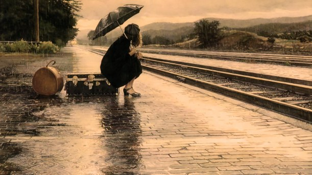 Rain-Wallpaper-HD-Girl-Umbrella