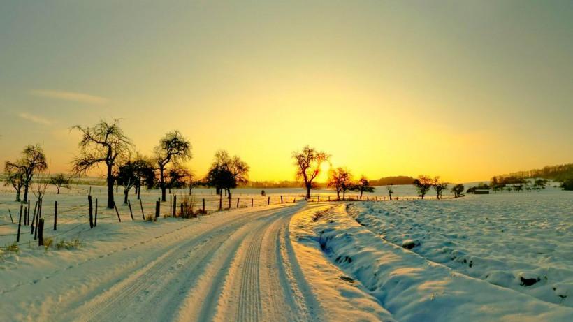 Winter-sunset-high-quality-wide-hd-wallpaper