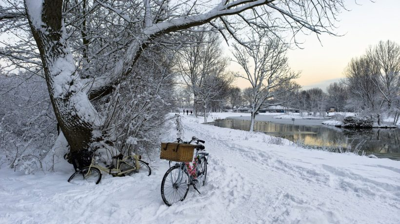 winter-peaceful-sky-trees-nature-tree-beautiful-lake-walk-lovely-magic-view-clouds-bicycle-pretty-snow-splendor-beauty-water-time-hd-scenes-1920x1080